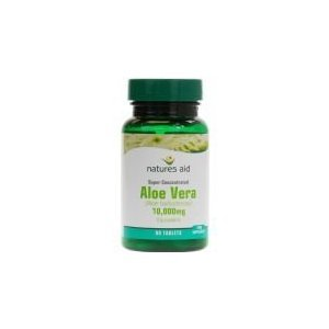 Natures Aid Aloe Vera 50mg - Pack of 90 Tablets