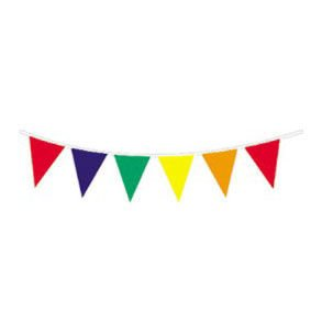 120' Outdoor Multicolor Pennant Banner from Century Novelty