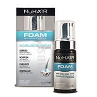 Nuhair Foam Rejuvenate & Style For Men & Women, Natural Fresh Scent - 3.4 Fl Oz, Pack Of 3
