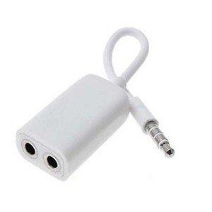 Earphones adapter apple - stereo to mono headphone adapter