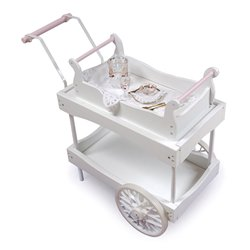 Child Size Tea Cart with Wheels - Buy Child Size Tea Cart with Wheels - Purchase Child Size Tea Cart with Wheels (Badger Basket, Toys & Games,Categories,Dolls,Accessories)
