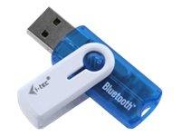 iTEC USBBTD3, Inalámbrico, USB, Bluetooth, 2.1 Mbit/s, Broadcom, 2.0+EDR