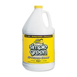 Simple Green 14010 Lemon Scent All-Purpose Cleaner, 1 Gallon Bottle