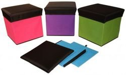 Folding Storage Ottoman Medium Case Pack 12