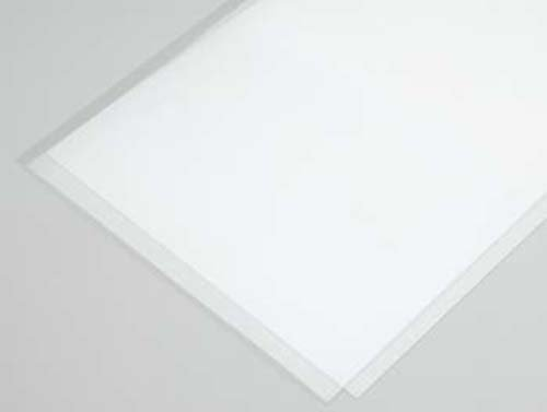 "Clear Plastic Sheet .015, 9 x 12"" (2)"