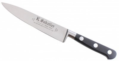 French Sabatier 6 Inch Forged Carbon Steel Chef Knife