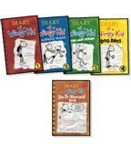 img - for Diary of a Wimpy Kid Complete 5-Book Set: Diary of a Wimpy Kid, Rodrick Rules, The Last Straw, Dog D book / textbook / text book