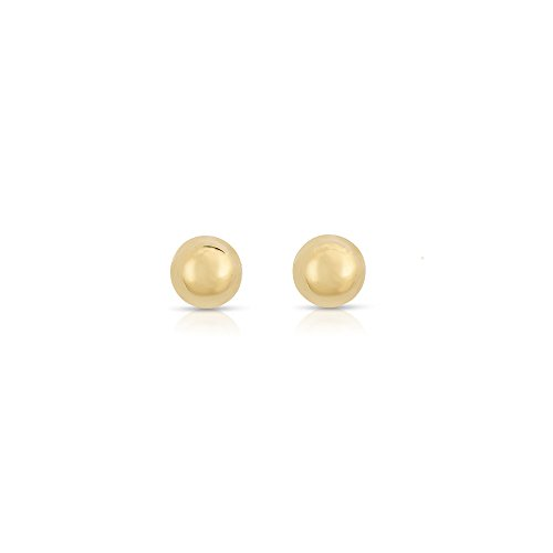 3mm-tiny-ball-stud-earrings-14k-solid-yellow-gold