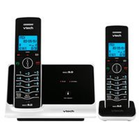 VTech LS6215-2 DECT 6.0 Cordless Phone, Black/White, 2 Handsets