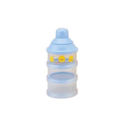 Piyo Piyo Three Layer Milk Powder Dispenser - Blue front-94787