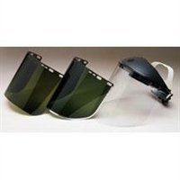 Jackson Safety Acetate Face Shield, Dark Green, 9in.x15.5in.x.04in. (Iron Acetate compare prices)