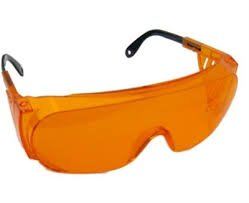 Uvex S0360X Ultra-spec 2000 Safety Eyewear, Orange Frame, SCT-Orange UV Extreme Anti-Fog Lens