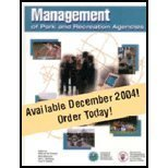 img - for Management Of Park And Recreation Agencies by Betty van der Smissen, Merry Moiseichik, V. Hartenberg (December 31, 2004) Hardcover book / textbook / text book