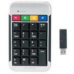 Targus Wireless Stow-N-Go Keypad (Black/Silver)