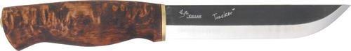"Kellam KLKLWP6 Knives Fixed Knife Carbon Steel Tracker Birch Handle 10 5/8"" Over"