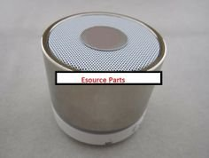 Best Shopper - Mini Bluetooth Wireless Mp3 Portable Hands-Free Speaker - Chrome Silver