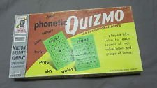 Quizmo Phonetic Educational Lotto Game 1957 - 1