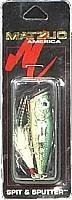 Best Matzuo Spit N Sputter Fishing Lure (Baby Bass, 2 1/2-Inch)