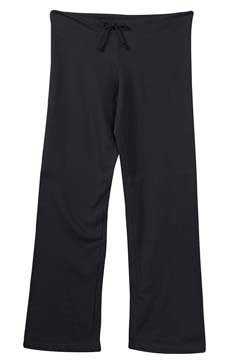 Bella Ladies Preshrunk Fleece Lounge Sweatpant. 7017