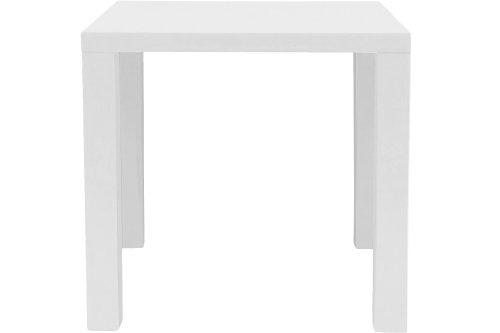 H000008294 Esstisch Zidan, circa 80 x 76 x 80 cm, weiß hochglanz