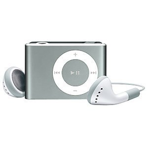 (SILVER) MINI CLIP ON MP3 PLAYER. IT SUPPORTS 1GB,2GB,4GB,8GB SDHC MEMORY CARDS SD/TF .MEMORY NOT INCLUDED (BULK PACKAGE)