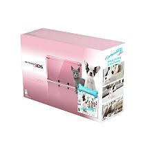 Nintendo 3DS - Pearl Pink Bundle Nintendogs + Cats: French Bulldog and New Friends