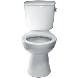 Sloan Valve ST-9020-A Commercial Elongated Toilet Bowl, White