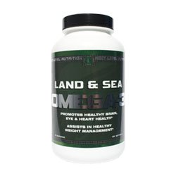 Land And Sea Omega 3: Combines The Very Best Omega 3 Essential Fatty Acids