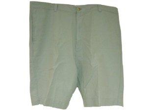 Berle Grenada Flat Front Shorts (Men's, Light Blue, 40) Golf Apparel NEW