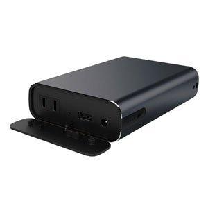 マクセル ACコンセント付モバイルバッテリーmaxell MPC-CAC11400BK