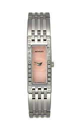 Movado Esperanza Baguette Case Pink Mother-of-pearl Dial Women's watch #606299