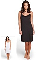2 Pack V-Neck Assorted Full Slips