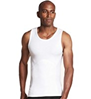 Bodymax Stretch Cotton Sleeveless Shaping Vest