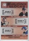 Dan Vogelbach, Dillon Maples, Matt Szczur Chicago Cubs (Baseball Card) 2011 Donruss Elite Extra Edition Building Blocks Trios #3