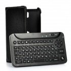 72-Key Bluetooth V2.0 / V3.0 Keyboard W/ 360-Degree Rotation Pu Leather Case For Samsung I9220