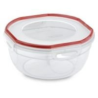 2.5 Quart Rocket Red Sterilite UltraSealTM Latching Bowl (Microwave Cover Pba Free compare prices)