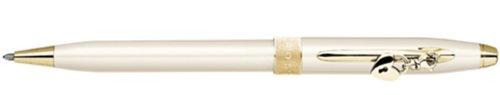 Sentiment Pearlescent Ivory Ballpoint Pen