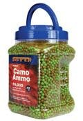 Crosman Camo Ammo 6mm plastic airsoft BBs, 0.12g,