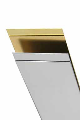 "Stainless Steel Strip .012 X 3/4"", Carded - 1"