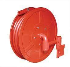 First aid hose reel drum with 30 mtr. pipe and nozzeal isi mark