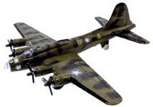 B-17 Flying Fortress Green