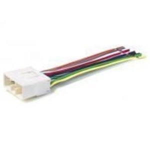 stereo wire harness subaru impreza/wrx 02 03 04 05 05 2002 2003 2004 2005  (car radio wiring installation parts) - buy online in oman