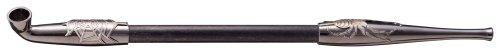 柘製作所(tsuge) 煙管 黒煙管「蜘蛛の糸」 #50929