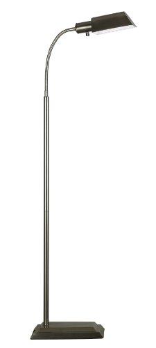 Kenroy Home 20967VB Steward Floor Lamp, Vintage Brass