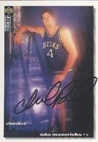 Cherokee Parks Dallas Mavericks 1995 UD Collectors Choice Autographed Hand Signed... by Hall+of+Fame+Memorabilia