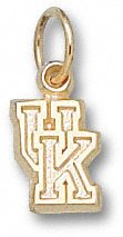 Kentucky Wildcats 10K Gold Classic ''UK'' 5/16'' Pendant