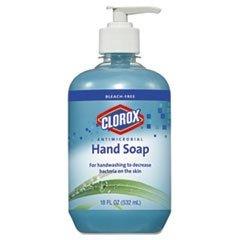 clorox-antimicrobial-hand-soap-18-fl-oz-5323-ml-pump-bottle-dispenser-bacteria-remover-hand-blue-ant