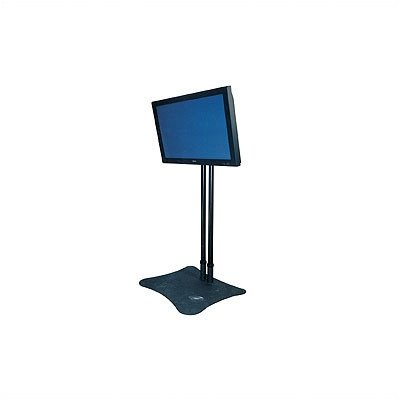 "Extra Dual Poles For Plasma Display Floor Stands Height: 60"", Pole Finish: Chrome"