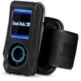 Belkin Sansa E200 Series Holster W Removable Armand Black