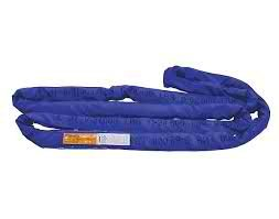 30 Ft. Blue Polyester Endless Roundsling 21,200Lb Vertical Load Capacity Round Sling